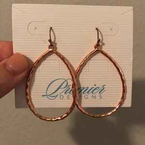 Rose Gold Premier Designs Earrings